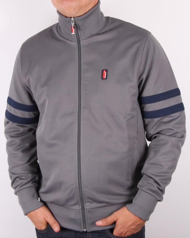 Ellesse Penguin Track Top Grey-Navy