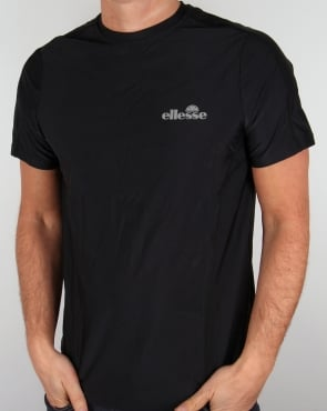 Ellesse Performance Salto T Shirt Black