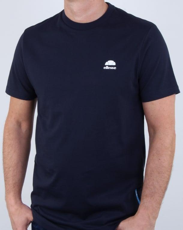 Ellesse Pescara T Shirt Midnight Navy