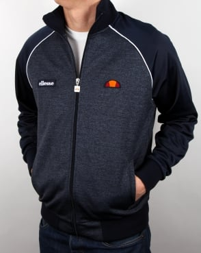 Ellesse Piped Track Top Navy