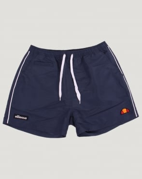 Ellesse Piping Swim Shorts Navy