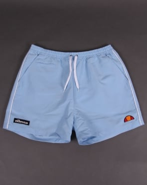 Ellesse Piping Swim Shorts Sky Blue
