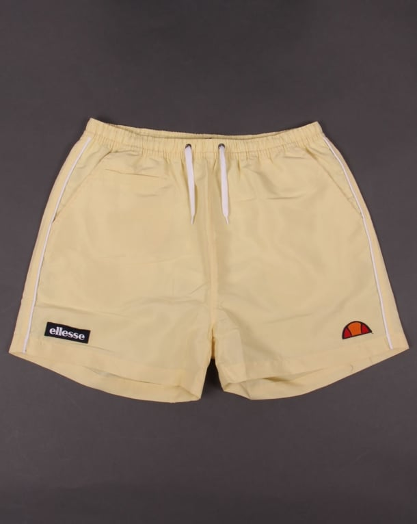 Ellesse Piping Swim Shorts Yellow
