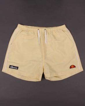 Ellesse Piping Swim Shorts Yellow