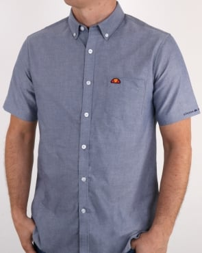 Ellesse Pocket Shirt short sleeve Navy