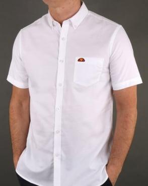 Ellesse Pocket Shirt short sleeve White