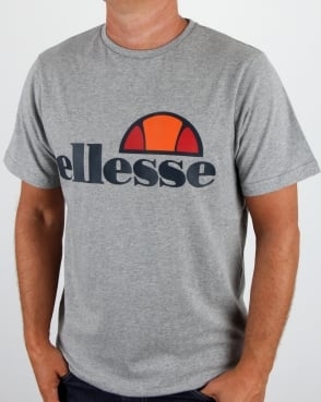 Ellesse Prado T Shirt Athletic Grey