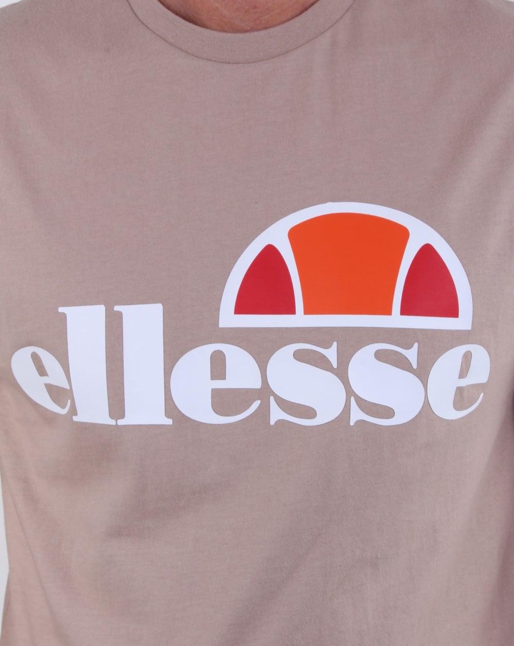 56191efe Ellesse Prado T Shirt Grey Stone