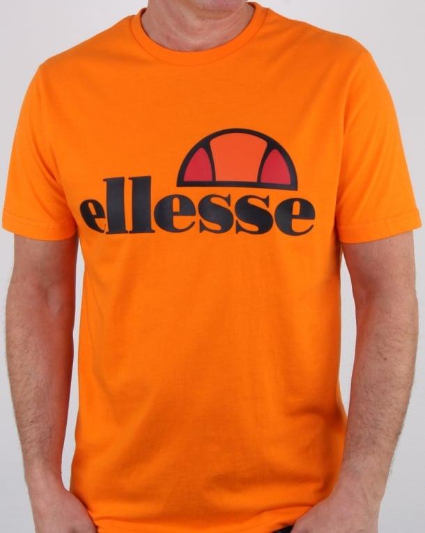 Ellesse Prado T Shirt Orange