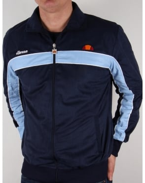 Ellesse Premium Track Top Navy/royal Blue