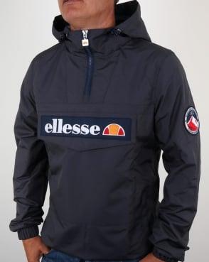 Ellesse Quarter Zip Overhead Jacket Charcoal