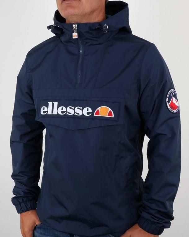 Zip Overhead Quarter Navy Blue Ellesse Jacket qTwdwE