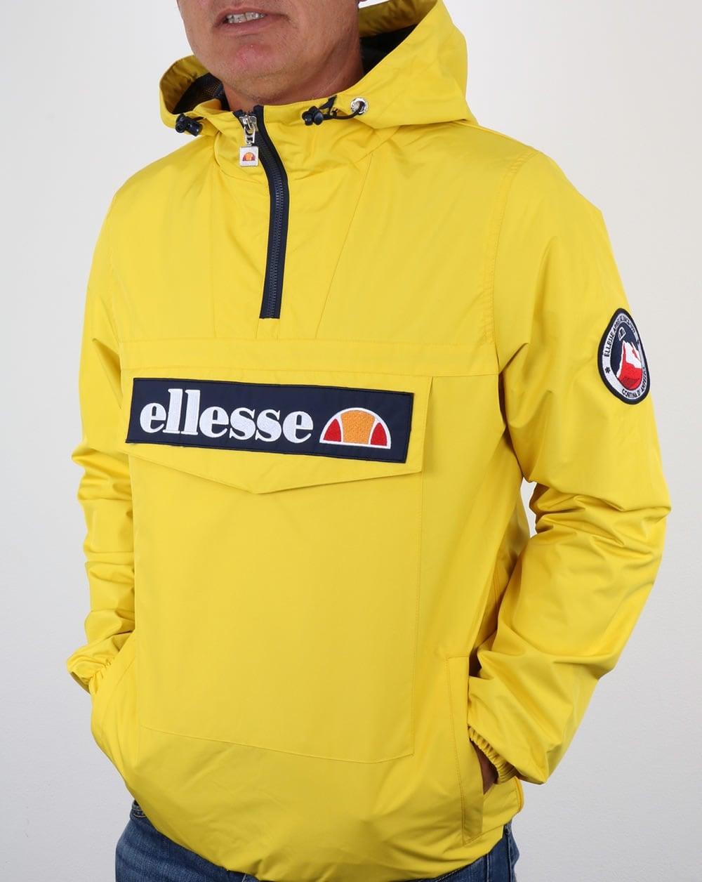 Overhead Xxqdr8 Ii Ellesse Coat Yellow Mont Smock Mens Jacket 0fOCqaH