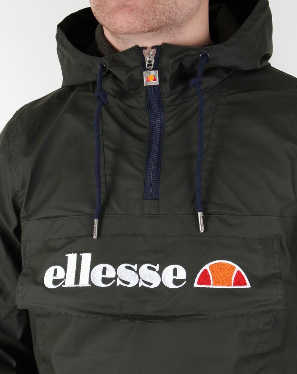 20c1c333f1 Ellesse Mont Brava Quarter Zip Jacket Rosin Green,smock,coat ...