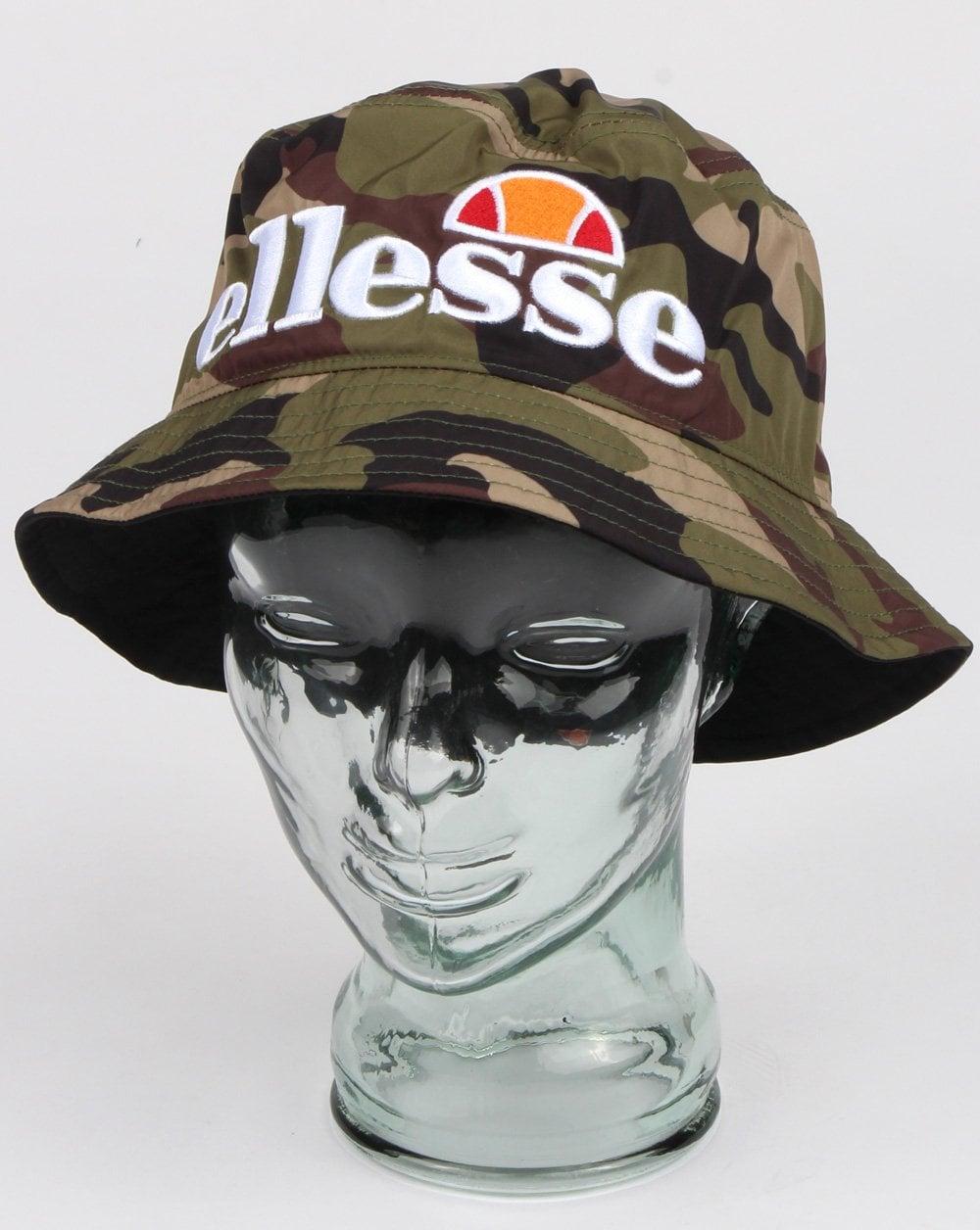 14312ca9f7 Ellesse Rassel Bucket Hat Camo