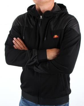 Ellesse Recoil Track Top Black