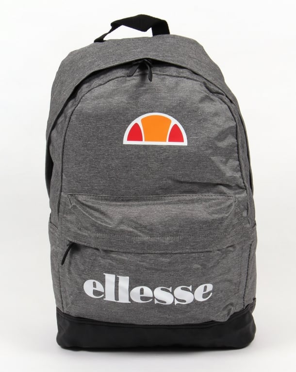 Ellesse Regent Backpack Charcoal Grey