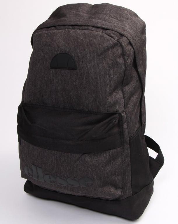 Ellesse Regent II Backpack Black/charcoal Marl