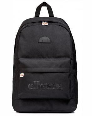 Ellesse Regent Ii Backpack Black Mono