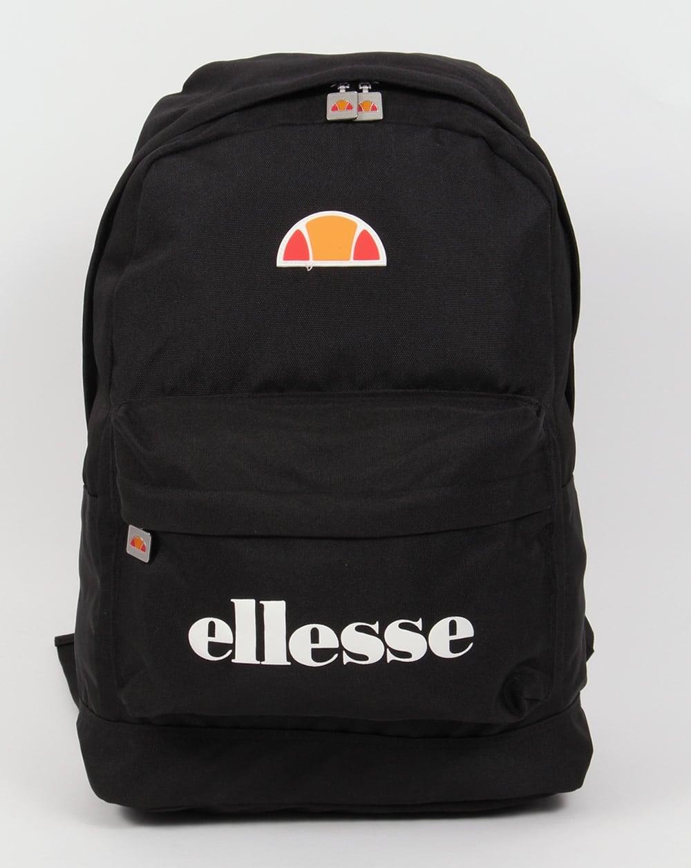 Ellesse Regent II Backpack Black ,bag,back to school,shoulder