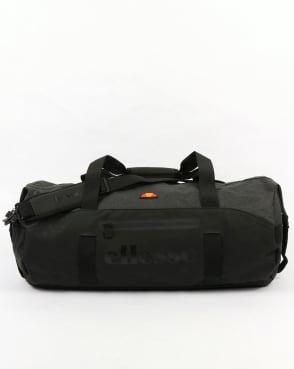Ellesse Renato Barrel Bag Black/Charcoal Marl