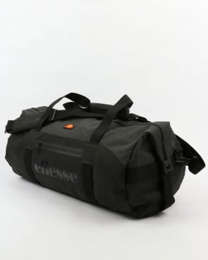 Ellesse Renato Barrel Bag Black/Charcoal Marl