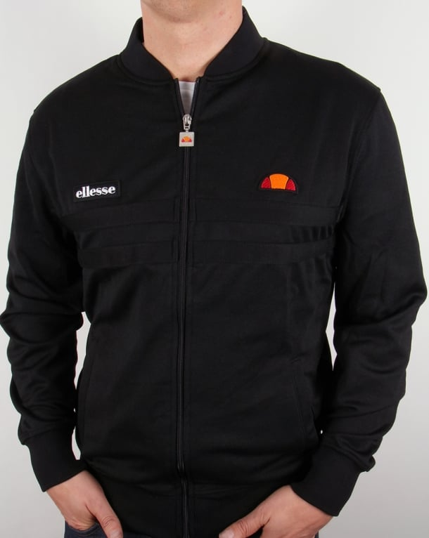 Ellesse Rimini 2 Track Top Black