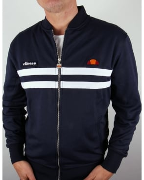 Ellesse Rimini 2 Track Top Navy/White