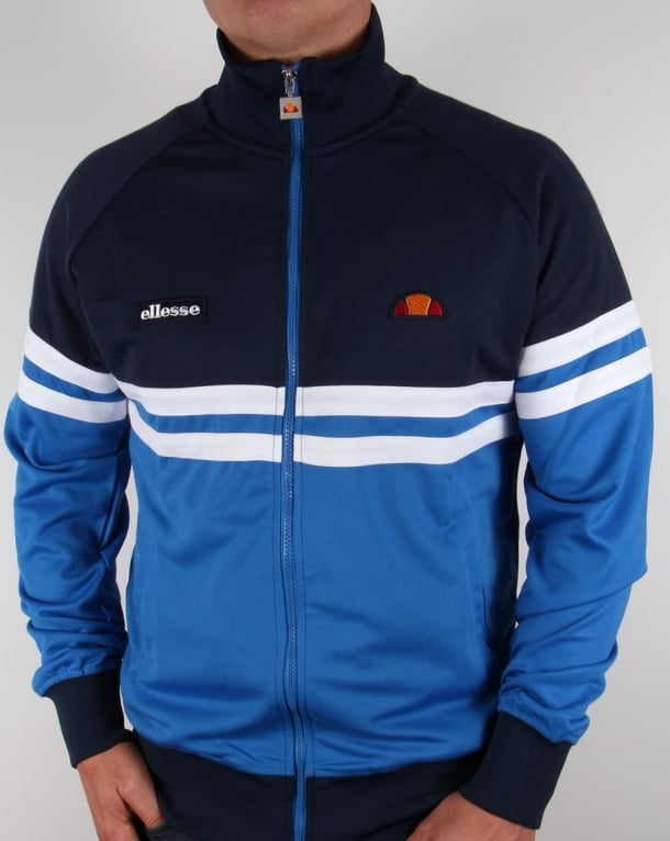 Ellesse Rimini 83 Track Top Navy/Royal Blue