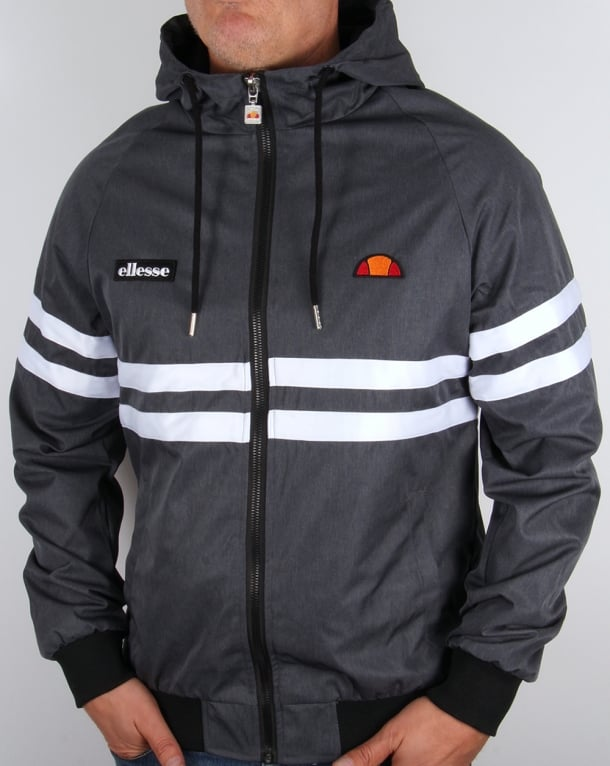 Ellesse Rimini Hooded Jacket Navy Marl