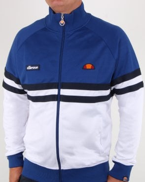 Ellesse Rimini Track Top Blue/white