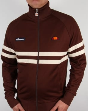 Ellesse Rimini Track Top Brown/Cream