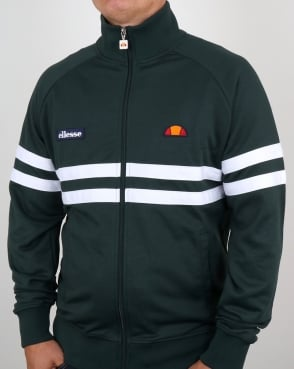 Ellesse Rimini Track Top Dark Green