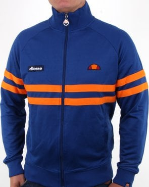 Ellesse Rimini Track Top Deep Royal/orange