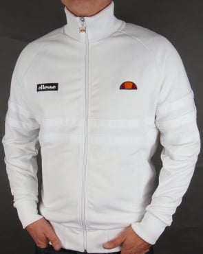 Ellesse Rimini Track Top Ice White