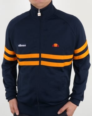 Ellesse Rimini Track Top Navy/Orange