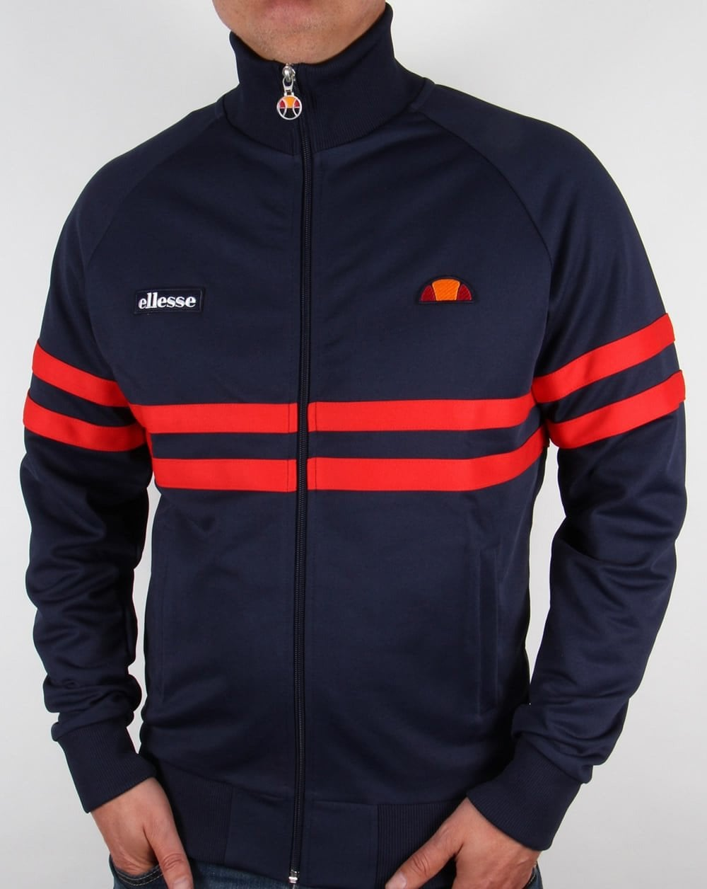 45f05ae2 Ellesse Rimini Track Top Navy/Red