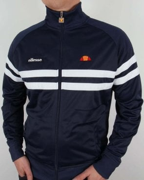Ellesse Rimini Track Top Navy/White