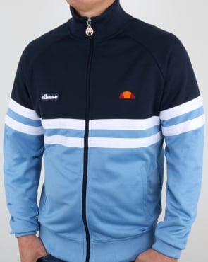 Ellesse Rimini Track Top Silver Lake Blue/navy