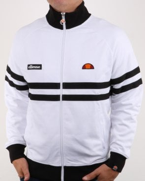 Ellesse Rimini Track Top White/black
