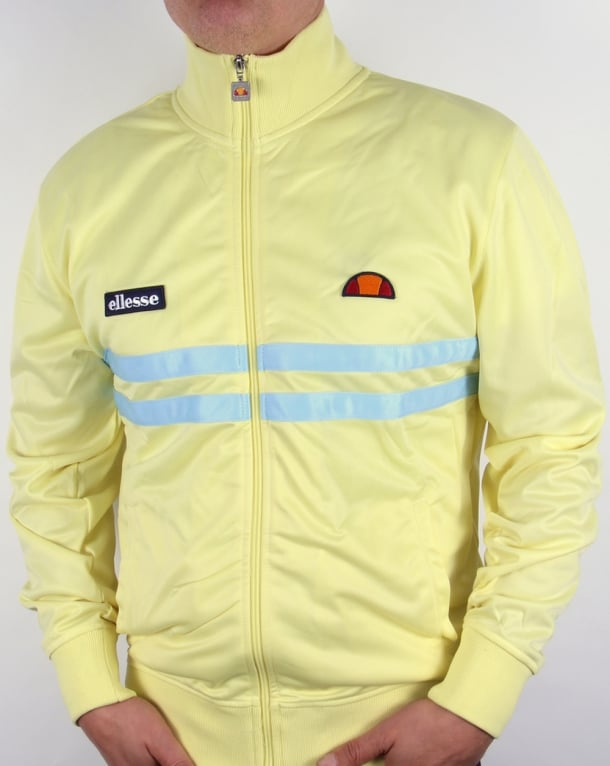 Ellesse Rimini Vincz Track Top Yellow