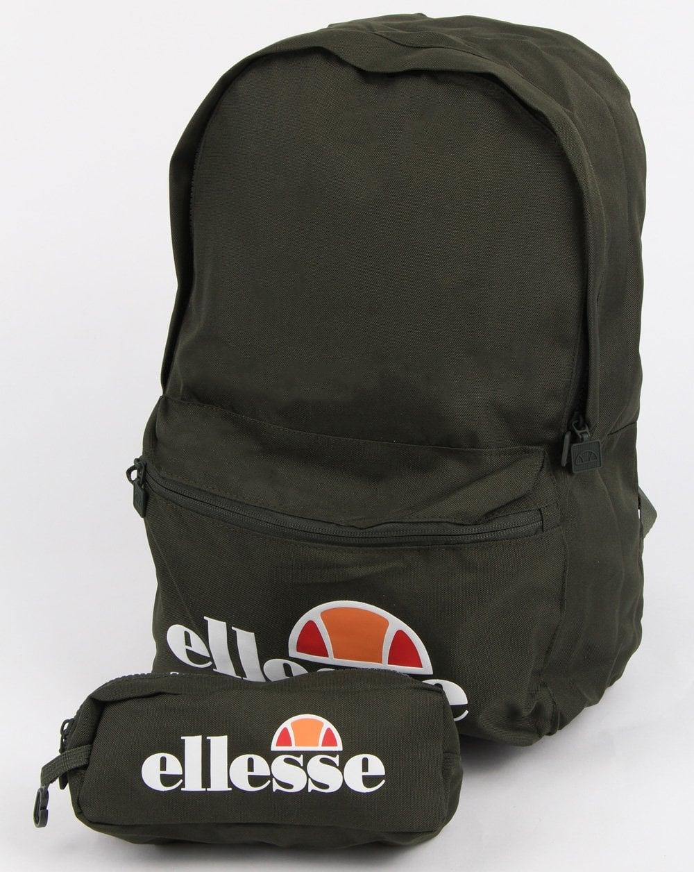 90ef6413d4 Ellesse Ellesse Rolby Backpack   Pencil Case Khaki