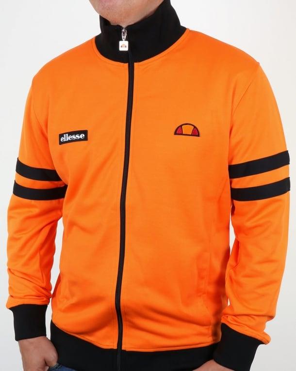 Ellesse Roma Track Top Orange/Black