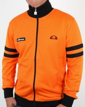 Ellesse Roma Track Top Orange/black