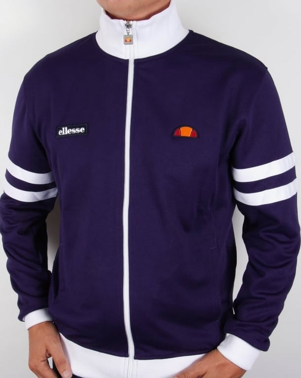 Ellesse Roma Track Top Purple