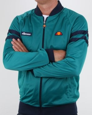 Ellesse Romeo Track Top Fanfair Green/navy