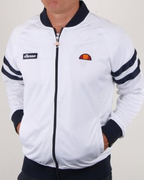 Ellesse Romeo Track Top White/navy