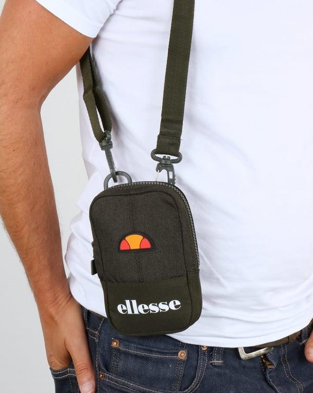 Ellesse Ruggero Small Items Bag Khaki/khaki Marl