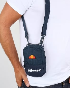 Ellesse Ruggero Small Items Bag Navy/navy Marl