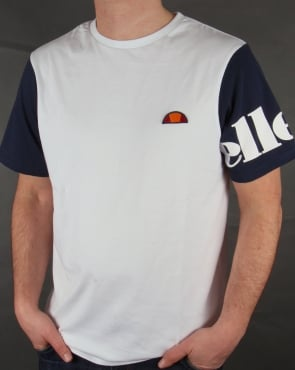 Ellesse San Gem T-shirt White/Navy